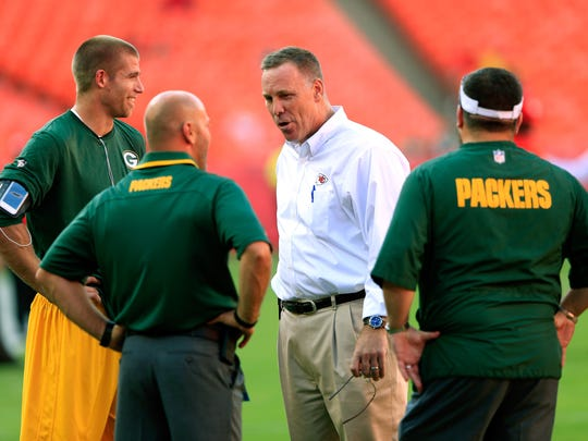 Former Green Bay Packers General Manager and current