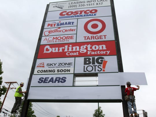 Seaview Square in Ocean Township saw several new stores join the shopping center in 2014.
