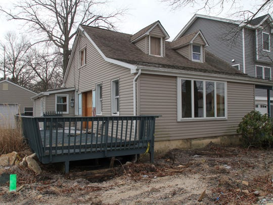 Claire Seunath's home on E Long Branch Ave in Ocean Gate.