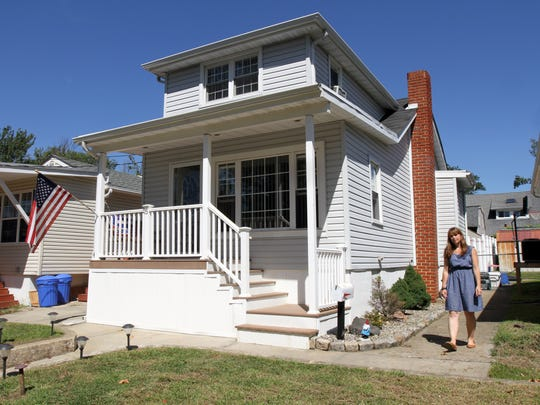 A Keansburg home where the homeowner's flood insurance