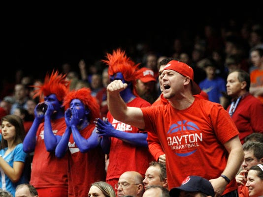 NCAA Dayton Boise St Basketball