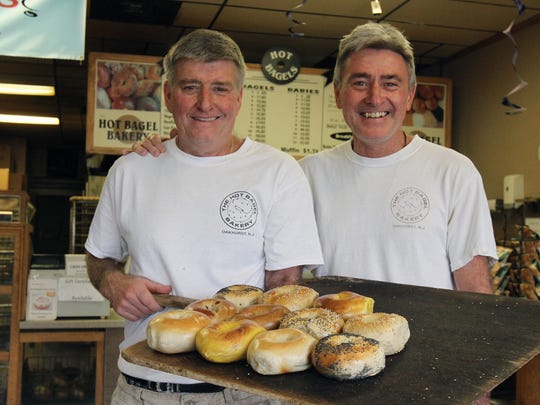 Brothers Dan and John Grimes have owned The Hot Bagel Bakery since 1979.