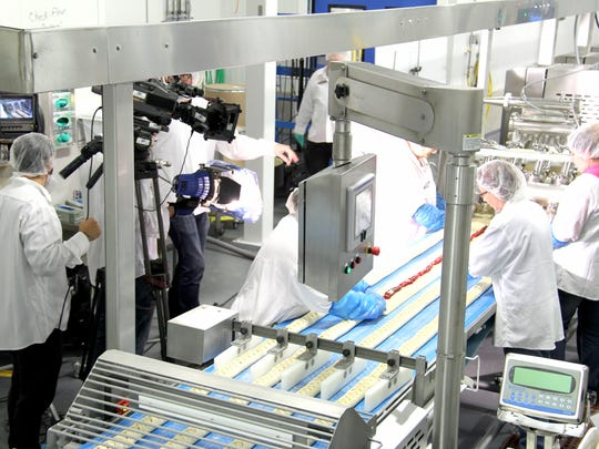 """Country Maid Inc. in West Branch hosted a television crew from the Discovery Channel for its """"How It's Made"""" show."""