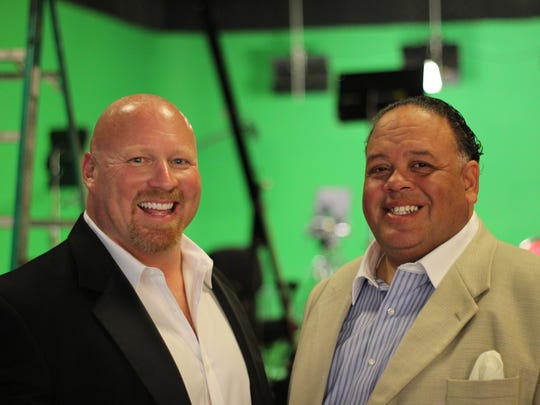 Chuck Ardezzone (left) and Frank Monti founded ITZ Media Group in Naples.