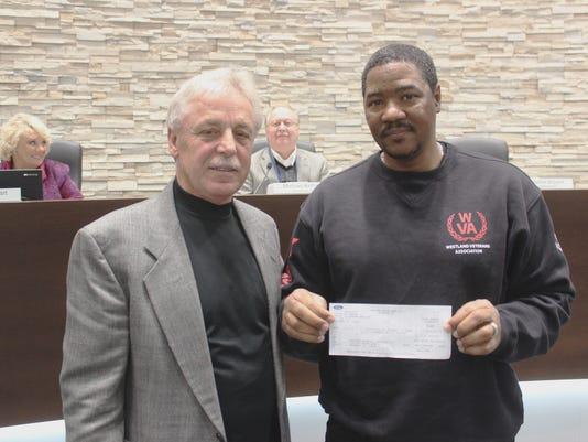 WSD vet donation