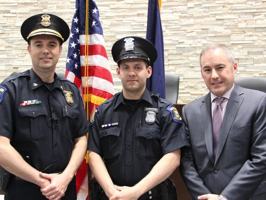 WSD police officer of the year-Furney