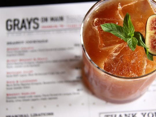 Gray's on Main has quickly developed a reputation for its outstanding variety of cocktail offerings.