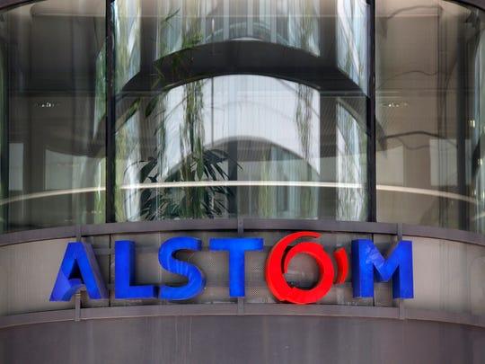 Alstom headquarters in Levallois-Perret, outside Paris,
