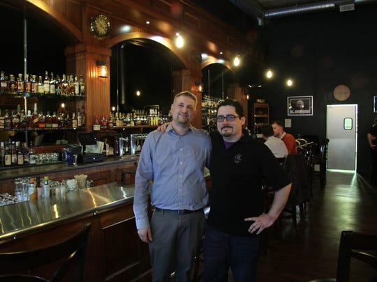 Union Barrel co-owners Jason Schaefer (left) and Chap Hebert.