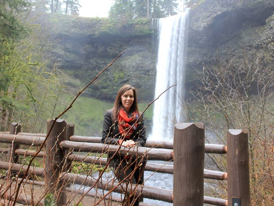 Lisa Van Laanen, who lives in South Salem, is the Oregon Parks and Recreation Department director, pictured here at Silver Falls State Park.