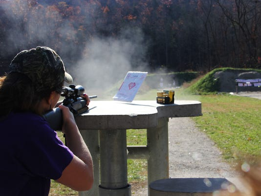 Busiesk State Forest shooting range