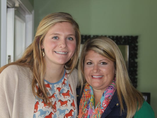 Caroline Kirk, 16, and her mother Kristen Kirk. Caroline, a sophomore at Leon High School, is one of the 5 Young Women to Watch. Kristen nominated her.