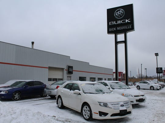 Dick Neuville Buick, 1830 Eighth St. S., will merge with Ironside GMC to become Wheelers Buick GMC of Wisconsin Rapids.