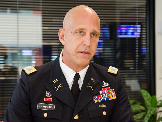 Col. Christopher Lambesis