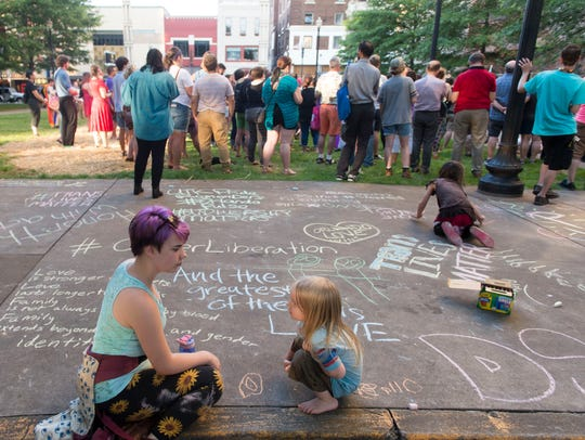 Myracle Bartee and Oliver Wilson add to the many chalk