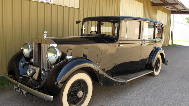 This July 20 photo shows a 1936 Rolls-Royce that was owned by Edward Stanley, son of the man who founded the Stanley Cup, at the Bonanzaville museum in West Fargo, N.D. The car, which has been on loan at the museum since the early 1970s, will be on display on July 30 when Pittsburgh Penguins center Matt Cullen brings the Stanley Cup to the Fargo, N.D. and Moorhead, area, where Cullen grew up and still resides.