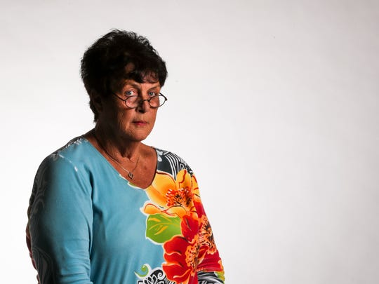 Karyn Tighe of Cape Coral has had a challenging time during the economic downturn, including job loss, loss of home and bankruptcy.