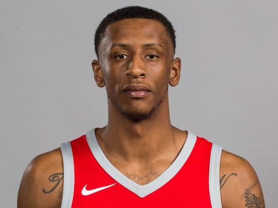 Houston Rockets forward Troy Williams (5)