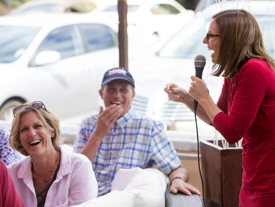 Rep. Martha McSally, a republican vying for her party's