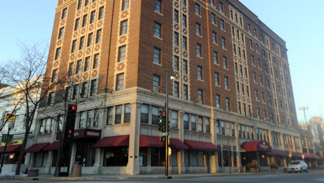 Retlaw Plaza Hotel is located at 1 N. Main St. in Fond du Lac.