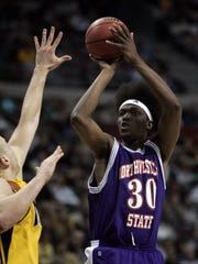 Northwestern State forward Clifton Lee scored 16 points in the second half as the Demons rallied to beat Iowa in the 2006 NCAA Tournament.