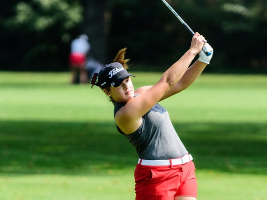 Lafayette Jeff's Courtney Walter IHSAA Girls Golf Regional