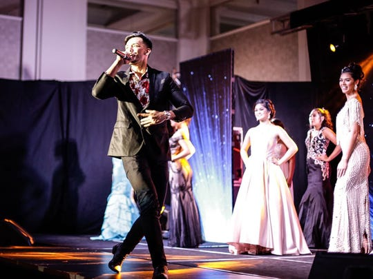 "Best Male Performer Jed Antonio performs his original hit song ""Lately"" at the 2017 Miss Guam World pageant."