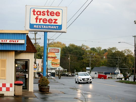 A Tastee Freez replaced Dairy Queen on West Beverley Street just west of downtown Staunton in this photo taken on Tuesday, Nov. 2, 2016.