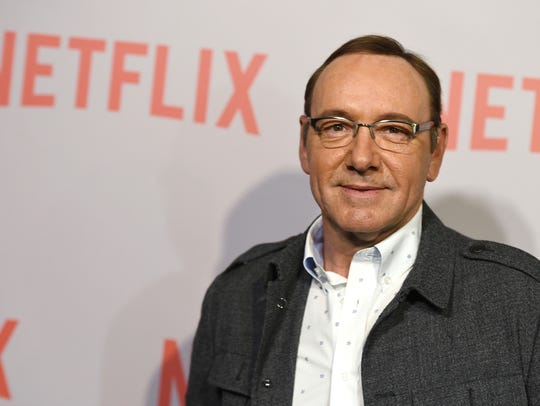 Kevin Spacey in April 2015 in Beverly Hills.