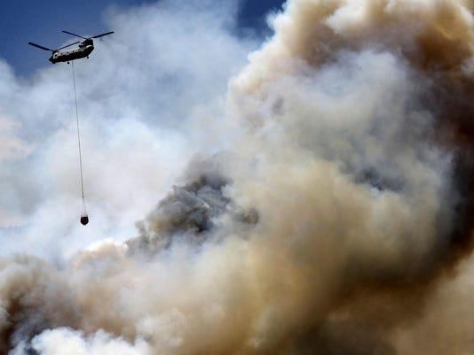 AP COLORADO WILDFIRES A USA CO