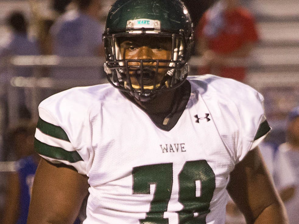 West Point's Scott Lashley highlights one of the deepest offensive line groups for team Mississippi in recent years.