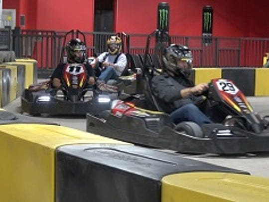 Pole Position Raceway opened in October at Marketplace Mall in the former Bon-Ton space.