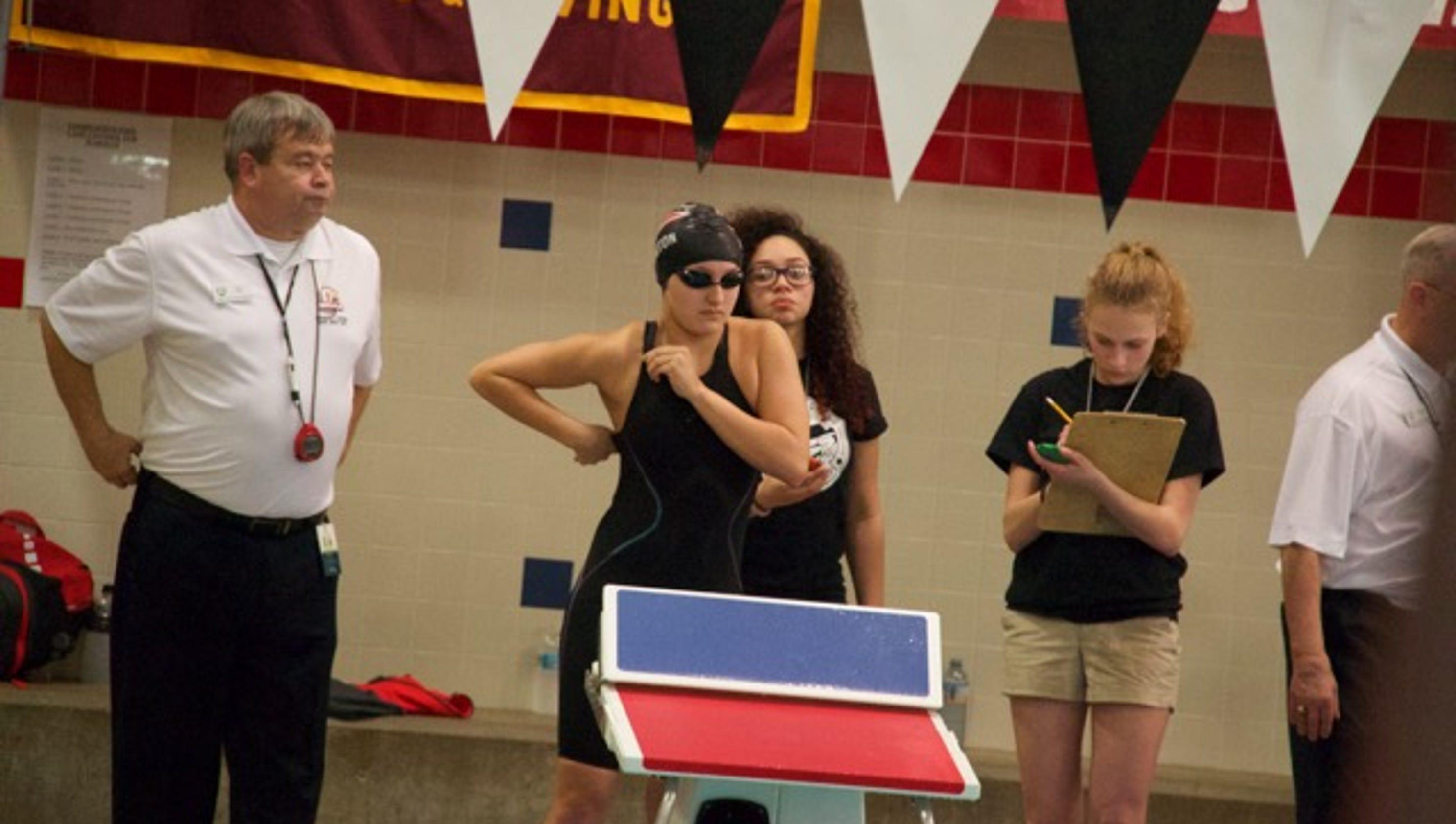 Fremont Ross Port Clinton Oak Harbor At State Swim Meet