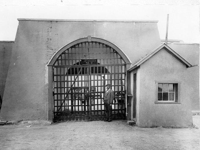The Yuma Territorial Prison in its 19th-century heyday.