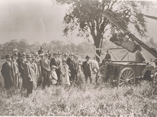 It was a cold June day in 1927 when members of the Ball family and others met to break ground for the new Ball Memorial Hospital along University Avenue in Muncie.