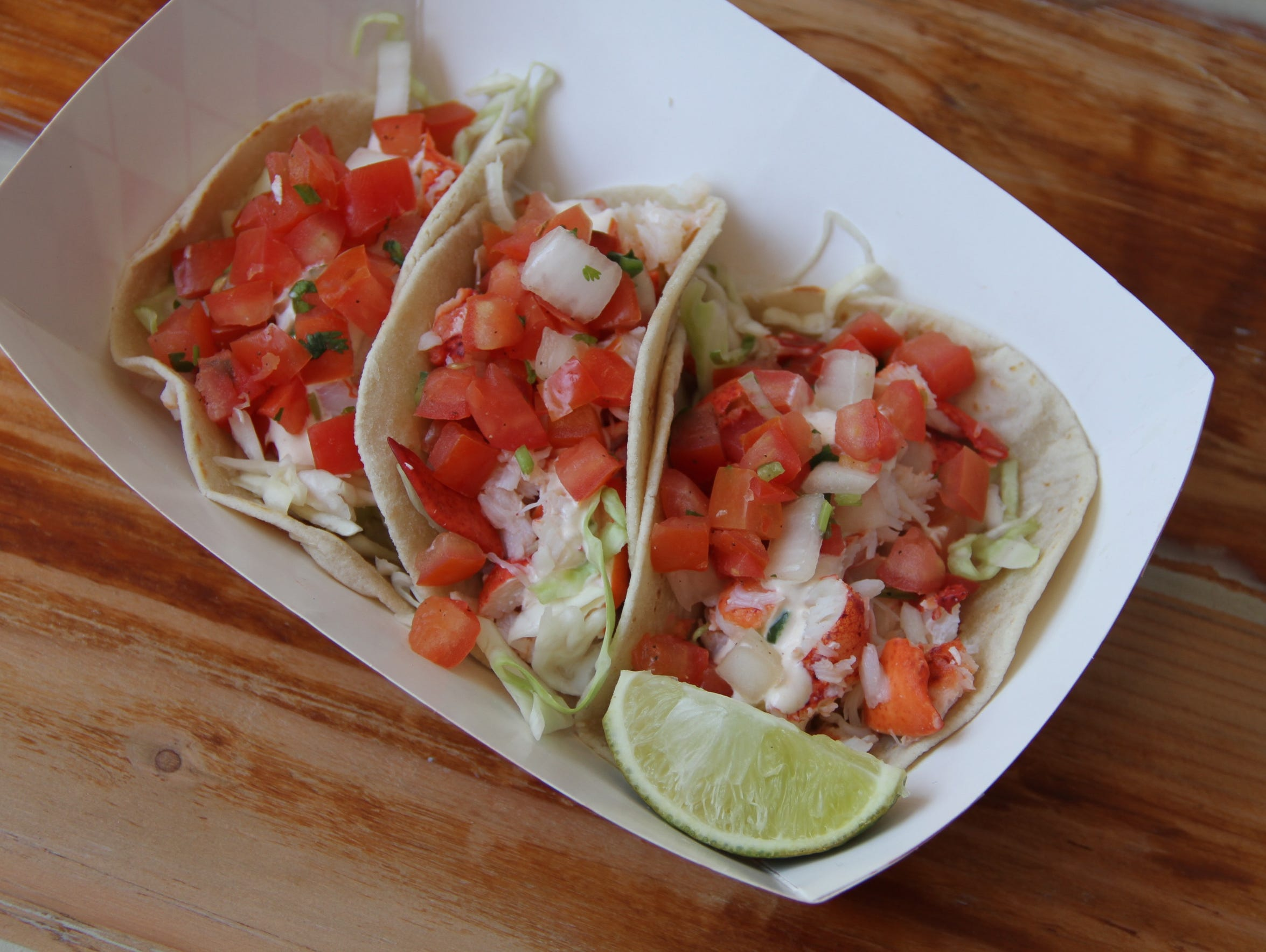 Fish tacos will be available Cousins Maine Lobster