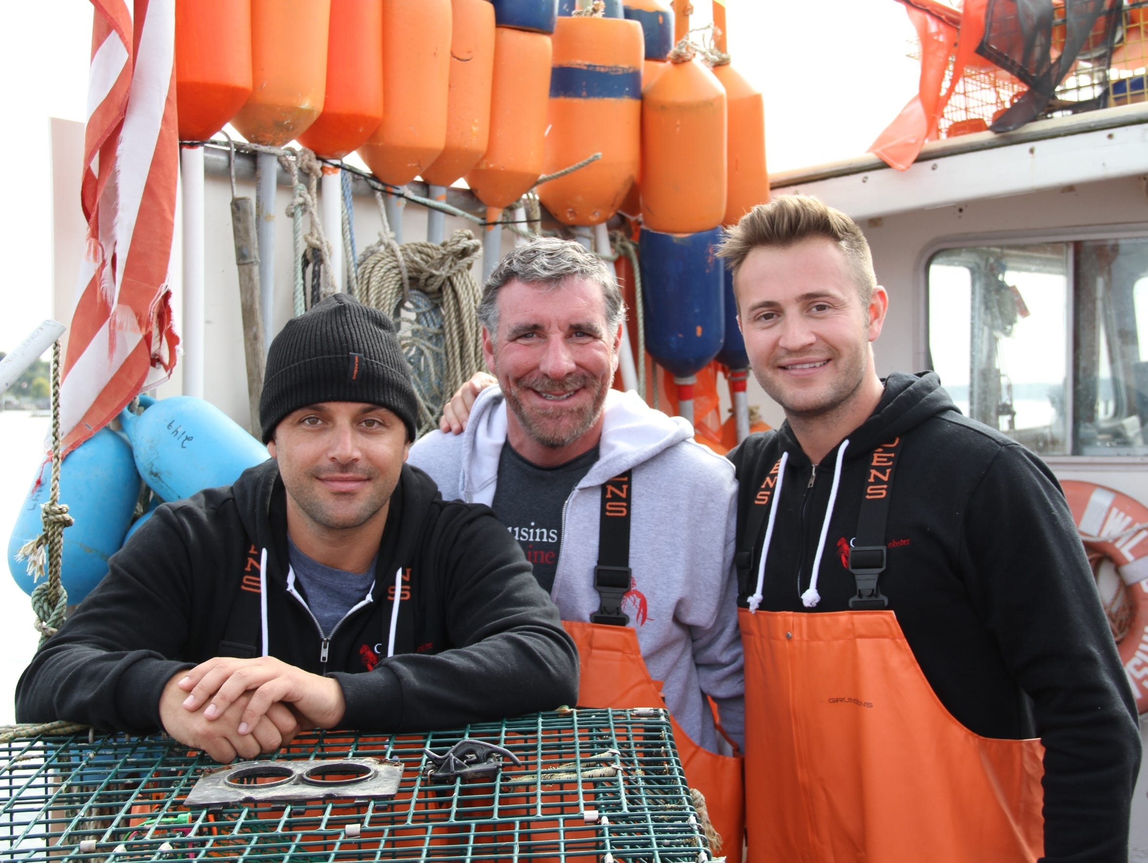 Cousins Maine Lobster co-founders Sabin Lomac, left,