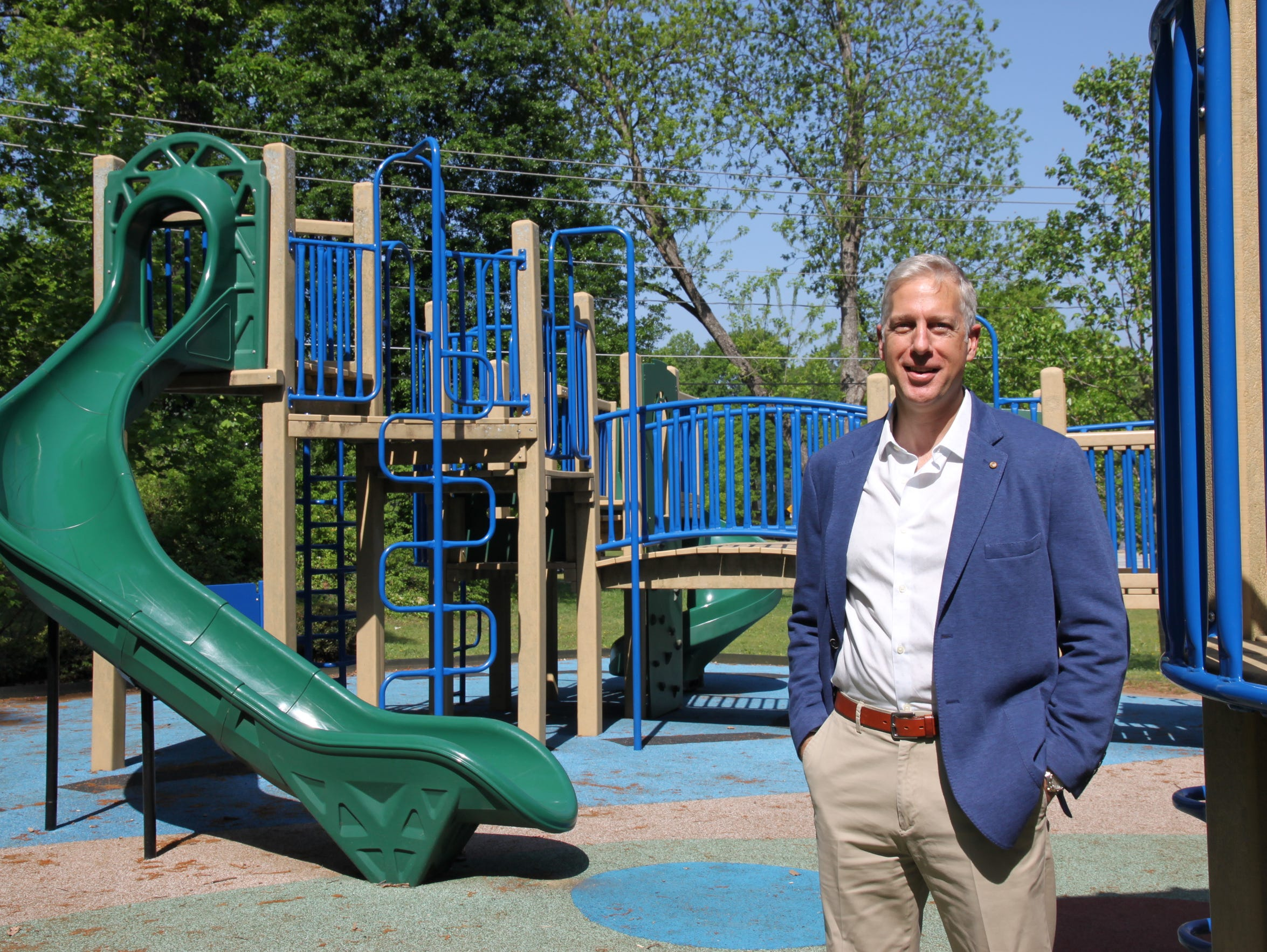EcoPlay Playgrounds of Atlanta, which makes more durable