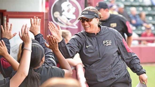 Lonni Alameda is in her eighth season as Florida State's head coach.