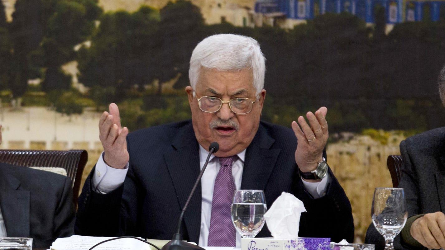 Abbas vows to 'slap back' after Trump's Jerusalem deal