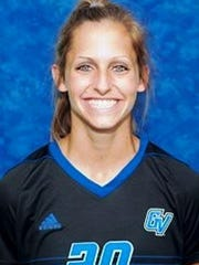 Northville High grad Gabriella Mencotti was the NCAA Division II National Player of the Year twice in women's soccer for Grand Valley State.