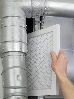 Replacing your air filter can save on heating costs.