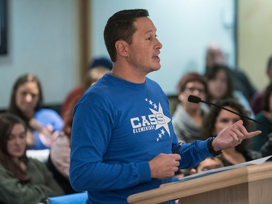 Cass Elementary parent Edmund Quimbao, who had a second-grader at Cass, talks about the impact of closing the school.