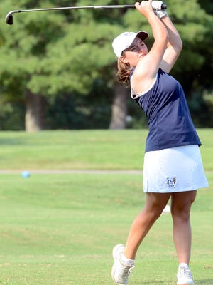 Gallatin's Ali McCarthy, shown here in a 2015 tournament, won first place in nationwide Hurricane Junior Golf Tour held in Rockvale.