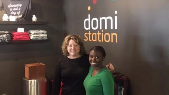 On the left, Nuekie, are two Tallahassee  entrepreneurs are going to New York City to compete for venture capital funding and network with other women in STEM. They are participating in two-day Project Entrepreneur event next month. They will be among 150 women at the competition, and they both do work out of Domi Station.