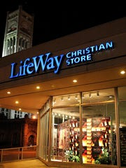 The LifeWay Christian Store at 10th Avenue North and