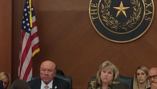 State Sens. Juan Hinojosa, Jane Nelson and John Whitmire hear testimony about CPS in crisis.