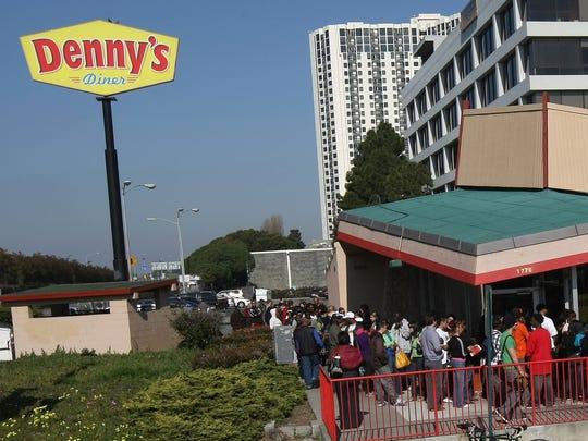 A Denny's restaurant.