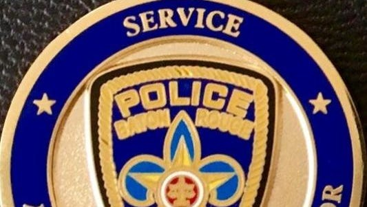 The Baton Rouge police insignia