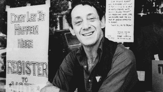 The Navy plans to name a ship for gay rights activist Harvey Milk, who was assassinated in 1978. Milk grew up in a Navy family, served as a Navy diver.